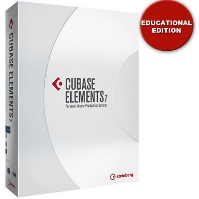 Steinberg Cubase Elements 7 DAW Software - Educational Edition - Steinberg - 502012841