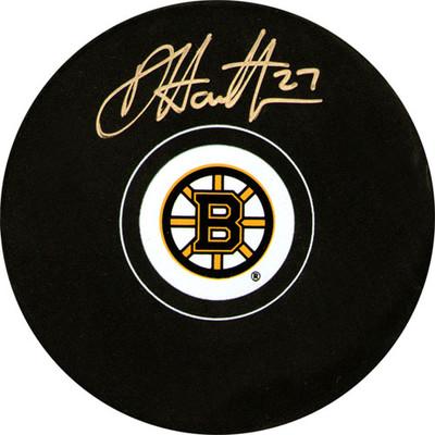 Dougie Hamilton Autographed Puck