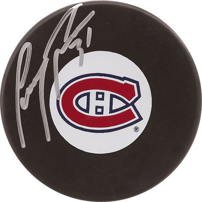 Carey Price Autographed Puck