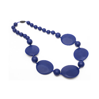 Bold Chic Teething Necklace - Royal Purple