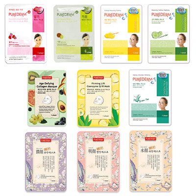 10 Packs of Assorted Face Mask
