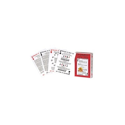 Playing Cards Chromatics Music Playing Cards - Hal Leonard - 00121861