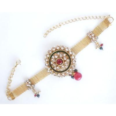 Embellished Gauze Arm Bracelet + FREE Gift