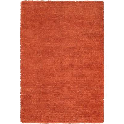 "eCarpetGallery Handmade Ritz Copper Shag - 6'7"" x 9'10"""