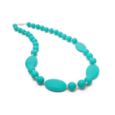 Casual Chic Teething Necklace - Turquoise