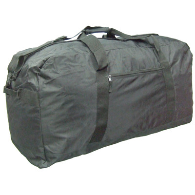 McBRINE 28 Inch Nylon Large Duffle Bag Super Light Black