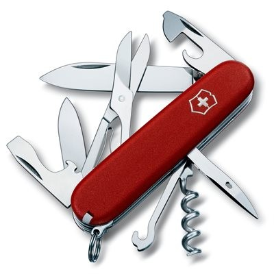 Victorinox Swiss Army Climber Knife - Red