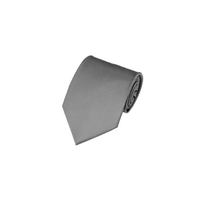 2 X Casual Stylish Slim Necktie (Skinny Tie) - Gray Color