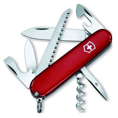 Victorinox Swiss Army Camper Knife - Red