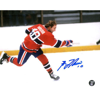 Guy Lafleur Autographed 8X10 Photo