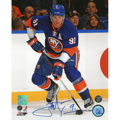 John Tavares Autographed New York Islanders 8X10 Photo