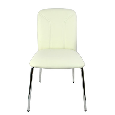 RetailPlus Set of Two Dining Chair 2-82 - White