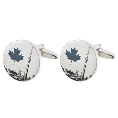 CN TOWER CUFFLINKS