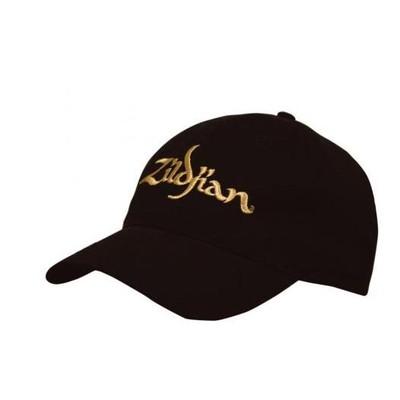 Zildjian Black Baseball Cap - Gold Logo - Zildjian - T3200