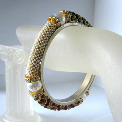 Pearlure Bangle - Large + FREE Gift