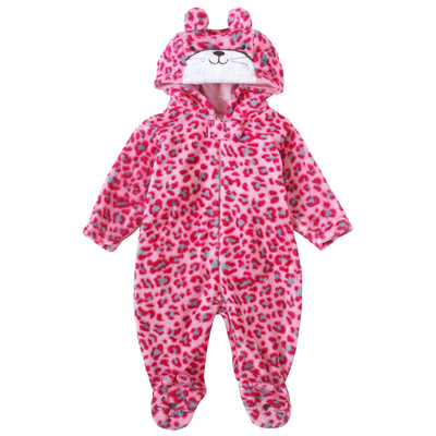 Newborn Girls Onesie with Hood - Kitty newborn costumes Sleeper