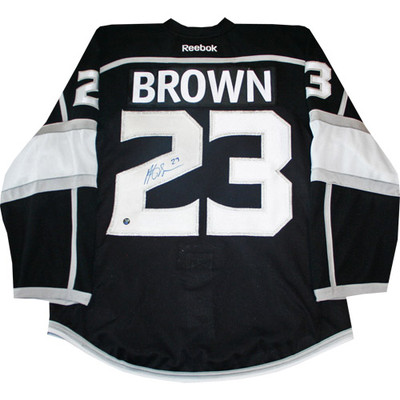 Dustin Brown Autographed Kings Pro Jersey