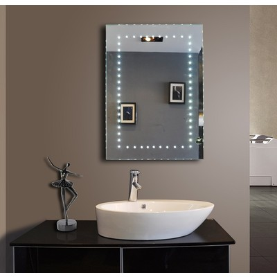 Led mirror sparkle 50 x 70 cm for Mirror 50 x 70