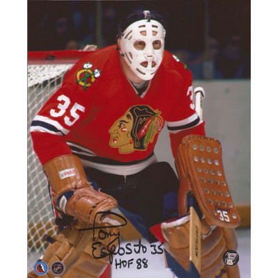 Tony Esposito Autographed 8X10 Photo (Photo 2)