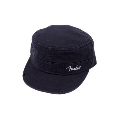 Fender Military Cap - Black, L/XL - Fender - 919-0660-506