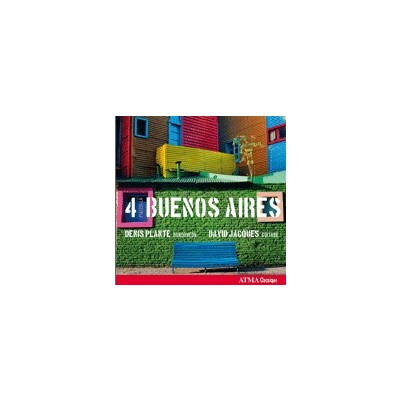 CD 4 Piazzolla Buenos Aires - Naxos - ACD2 2675