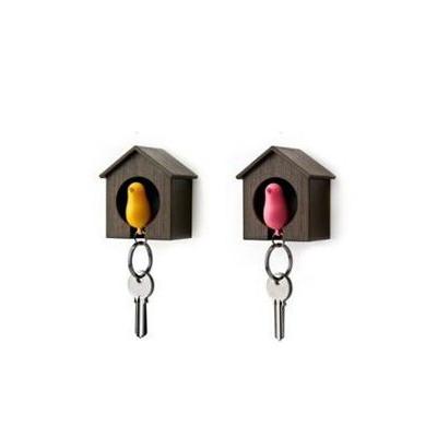 Single Bird House & Key Chain