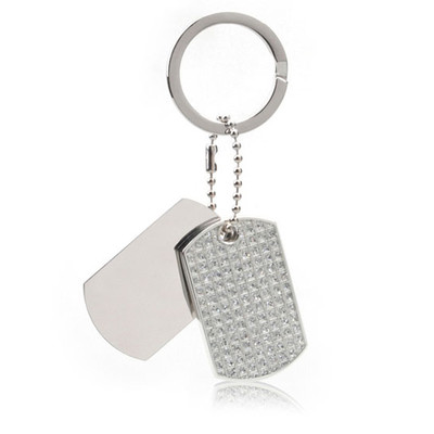 Elegant Glitter Key Ring