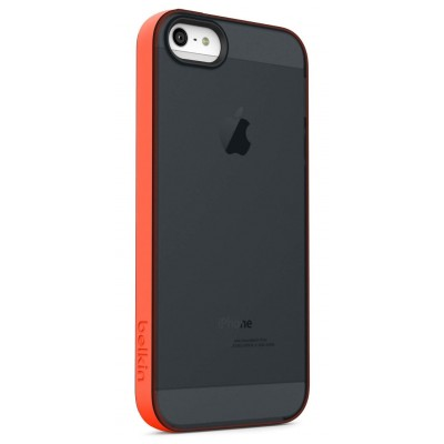 Belkin Grip Candy Sheer Case for iPhone 5/5S (Black/Peach)