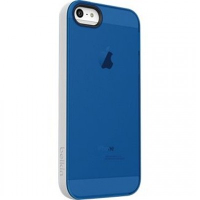 Belkin Grip Candy Sheer Case for iPhone 5/ 5S (Blue-WHITE)