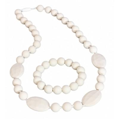 Casual Chic Necklace and Bracelet Set - La Creme