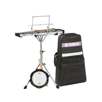 Yamaha shop ca for Yamaha student bell kit with backpack and rolling cart