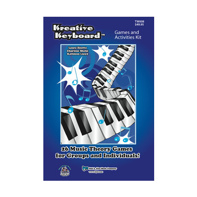 Music Kreative Keyboard Complete Games & Activities Kit