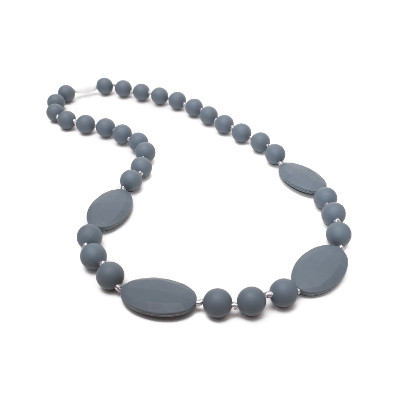 Casual Chic Necklace - Grey