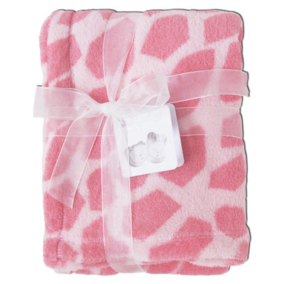 Giraffe baby blankets