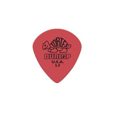 Picks Jim Dunlop Tortex Jazz Sharp Tip Red Light (36) - Jim Dunlop - 472RL3