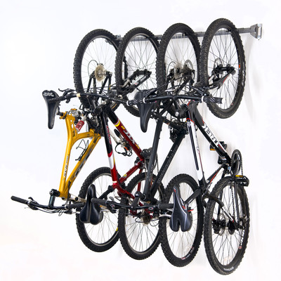 Bike Storage Rack(Holds 4 Bikes)