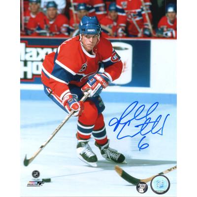 Russ Courtnall Autographed 8X10 Photo (Mtl)