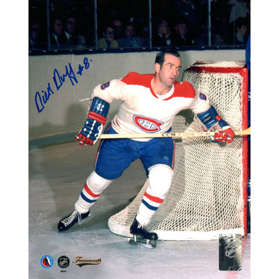 Dick Duff Autographed 8X10 Photo (Mtl)