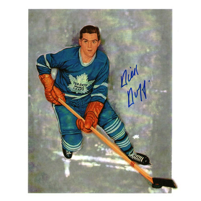 Dick Duff Autographed 8X10 Photo (Toronto Photo 2)