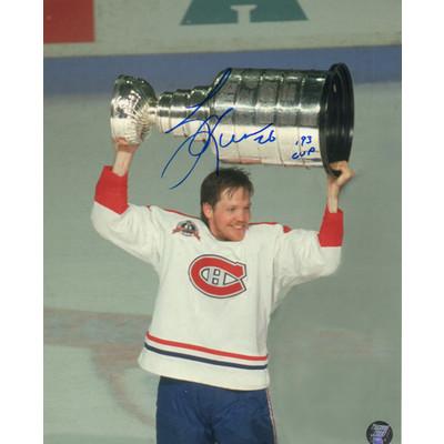 Gary Leeman Autographed 8X10 Photo (Mtl)
