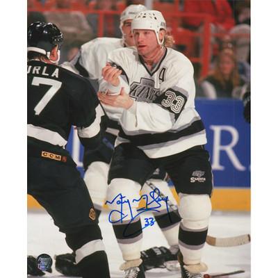 Marty McSorley Autographed 8X10 Photo (LAK)