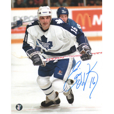 Ed Olczyk Autographed 8X10 Photo (Tor)