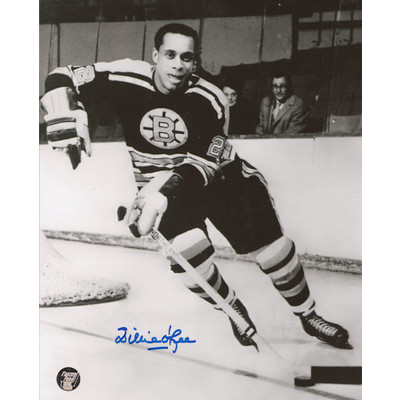 Willie O'Ree Autographed 8X10 Photo