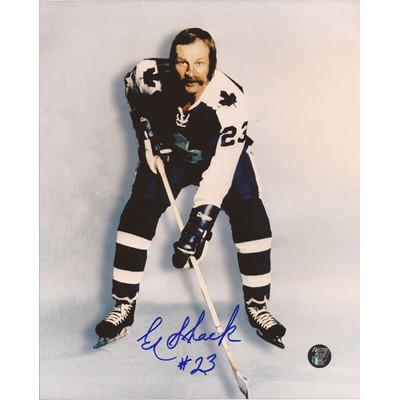 Eddie Shack Autographed 8X10 Photo (Posed)
