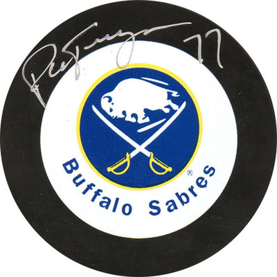 Pierre Turgeon Autographed Puck (Buf)