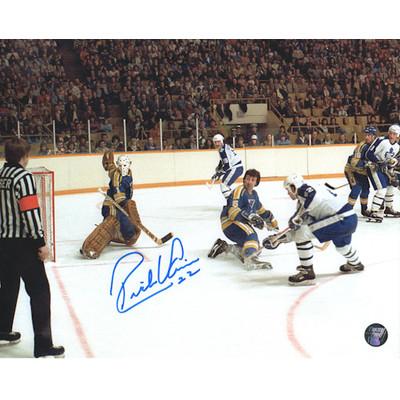 Rick Vaive Autographed 50th Goal 8X10 Photo