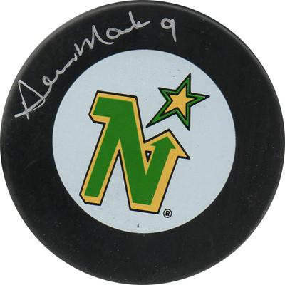 Dennis Maruk Autographed Puck (Min)