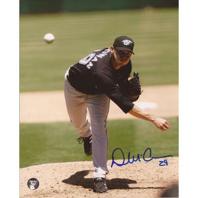 Dustin McGowan Autographed 8X10 Photo (Photo 2)