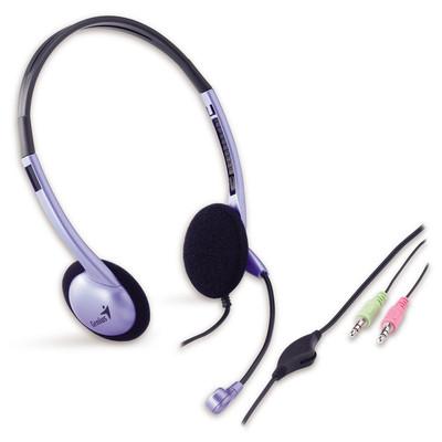 Genius Adjustable Headband Headset (HS-02B) (GN-CEHS-02B)