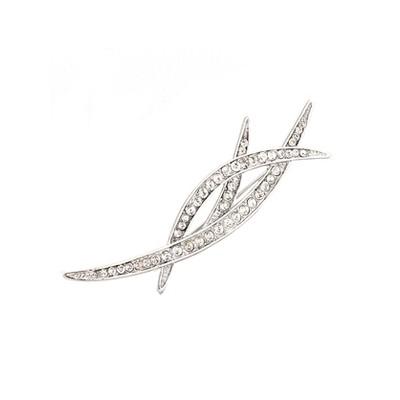 Classic Crystals brooch
